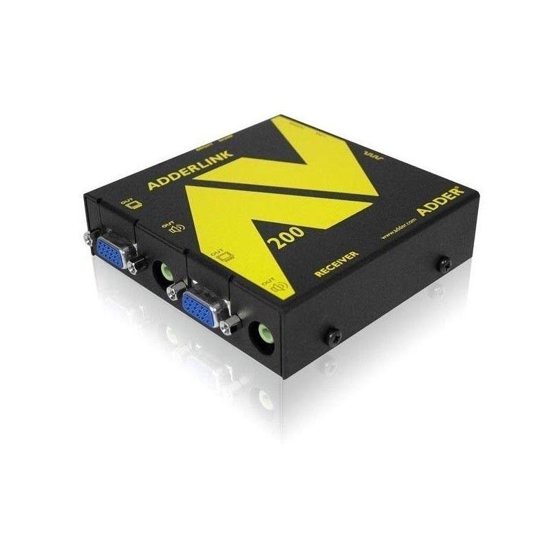 Kit d'extension Audio et Video sur cable Cat 5 jusqu'a 300 metre