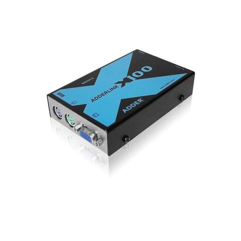 Deport KVM 100 metres audio VGA clavier souris USB sur cable cat