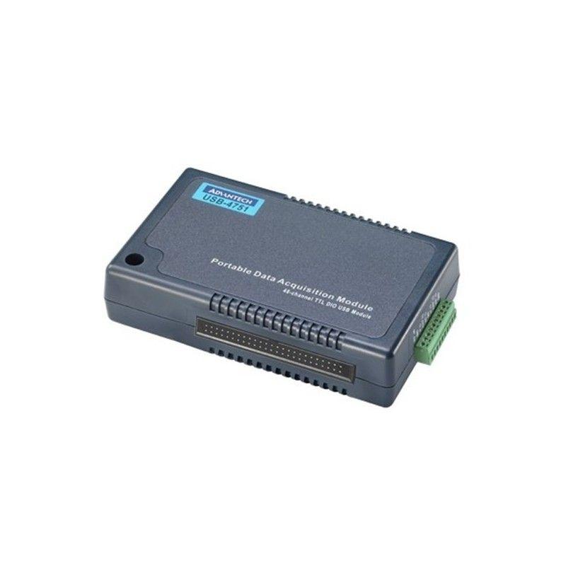 Module USB. 48 voies Digitales configurables en entree ou sortie.