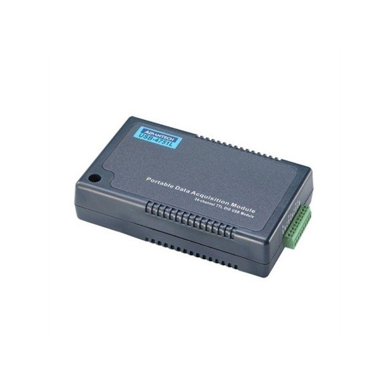 Module USB. 24 voies Digitales configurables en entree ou sortie.