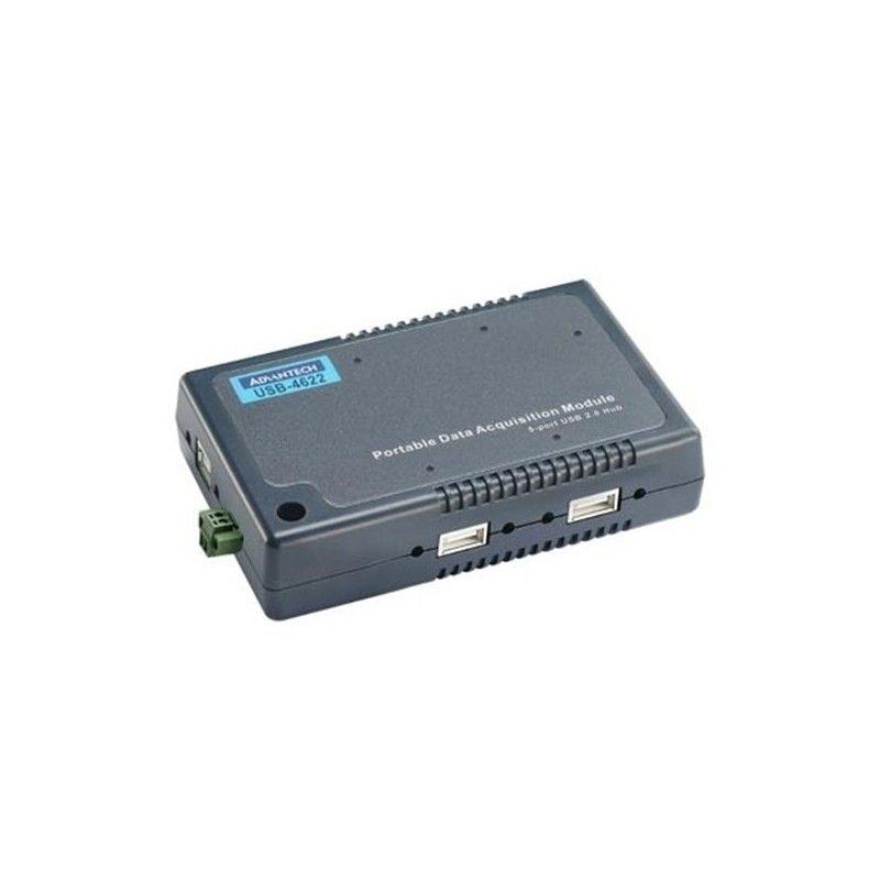 Hub USB 2.0 avec connecteurs pouvant relier jusqu'e 5 modules USB