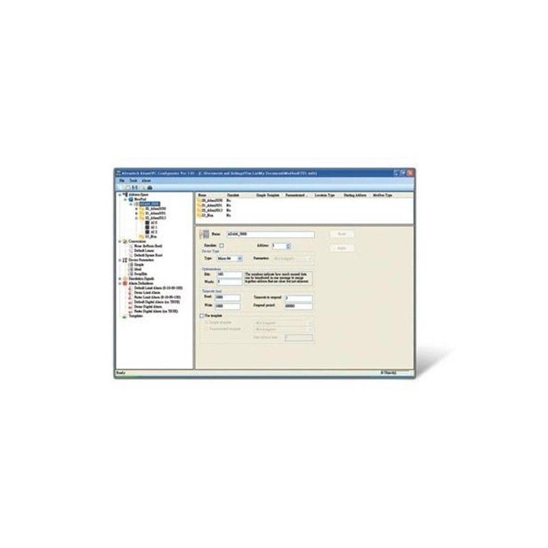 Serveur OPC Advantech. Protocole Modbus/TCP