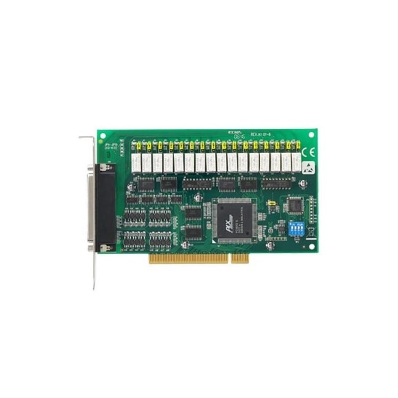 Carte bus PCI. 16 entrees Digitales isolees et 16 sorties e Re