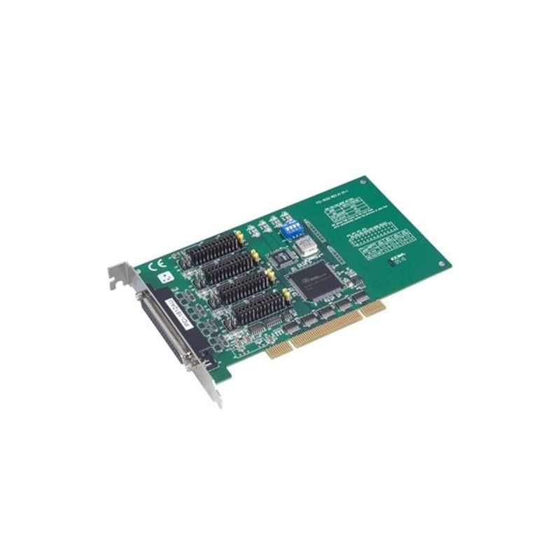Carte 4 ports RS-232/422/485 DB25. bus PCI Universel