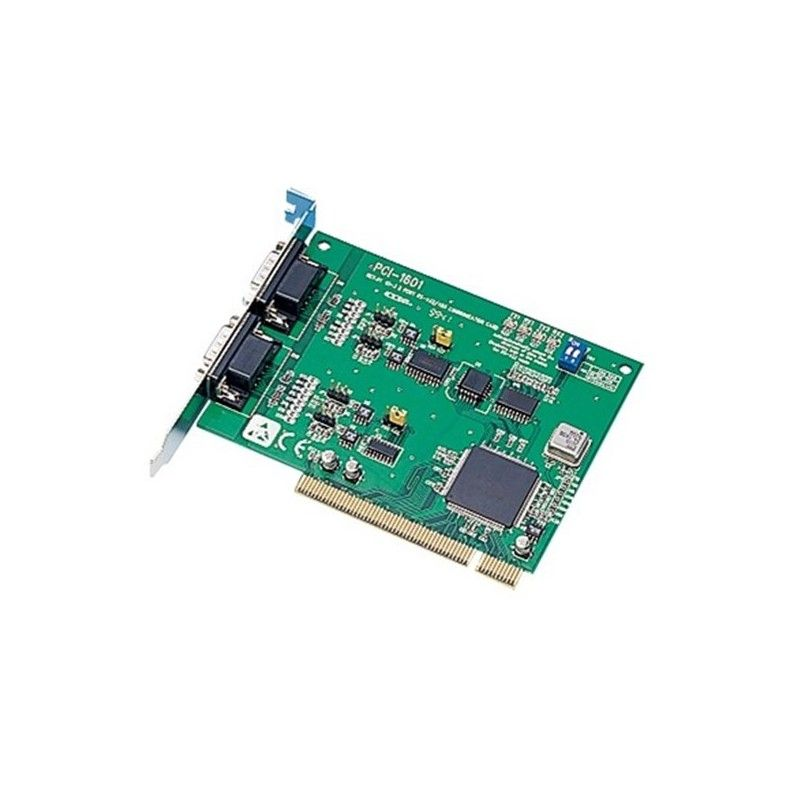 Carte 2 ports RS-422/485 DB9 (protection surtensions). bus PCI