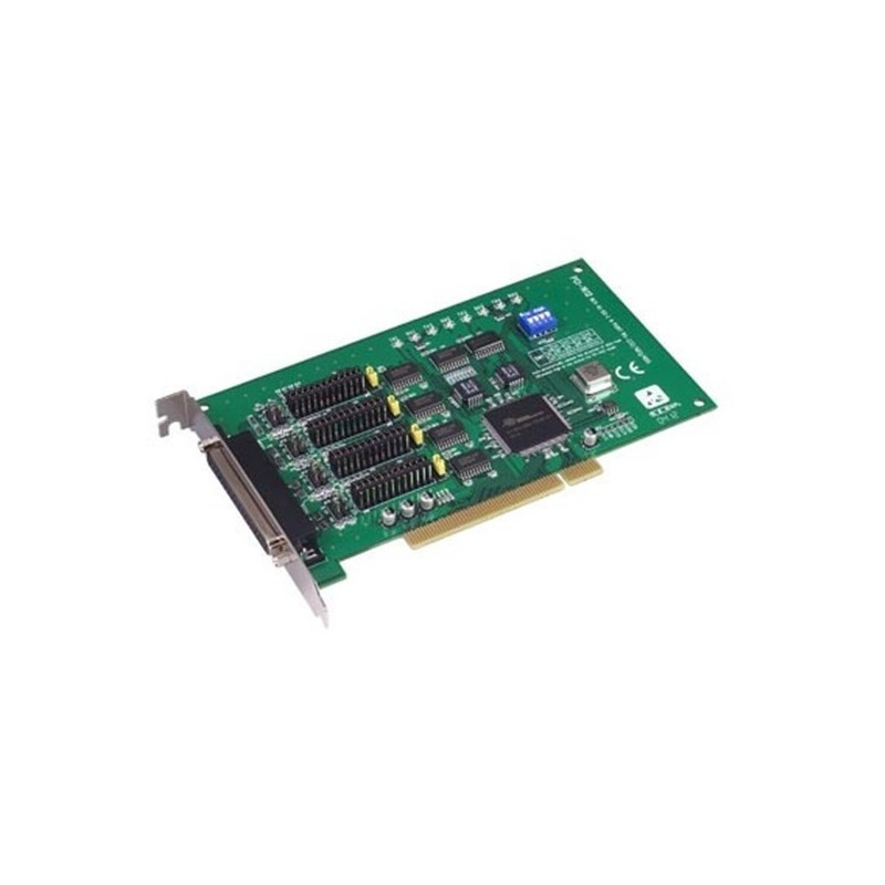 Carte 4 ports RS-232/422/485 DB9 (protection surtensions). bus PCI