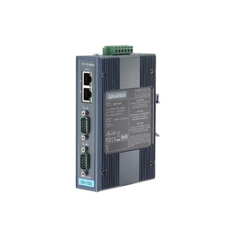 Serveur d'equipements Series. reseau Ethernet LAN vers 2 Ports