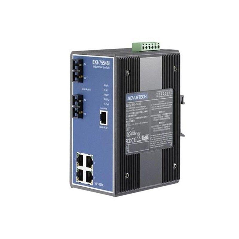 4+2 100FX Port S.M. Managed Switch(Wide Temp.)