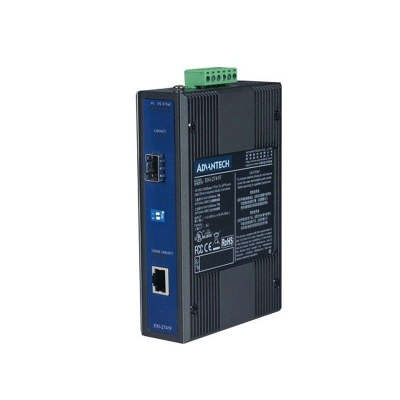 Convertisseurs de media industriels Gigabit 10/100/1000TX vers fib