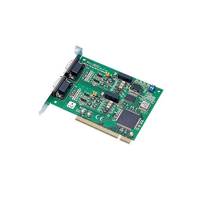 Carte 2 ports RS-422/485 DB9 isoles (protection surtensions). bus