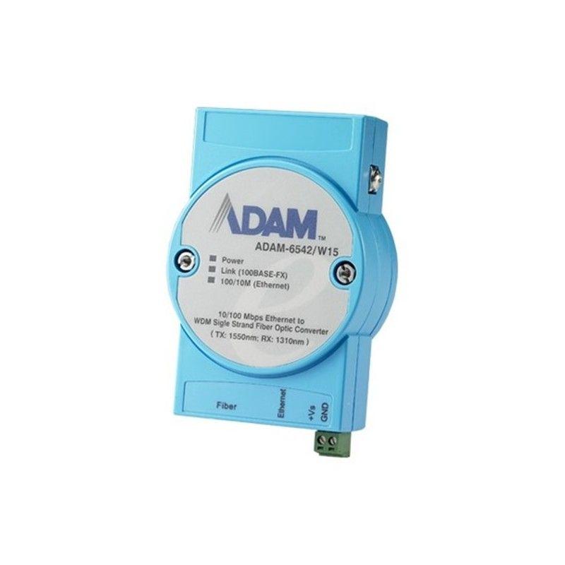Ethernet to WDM Fiber-Optic Converter /W15