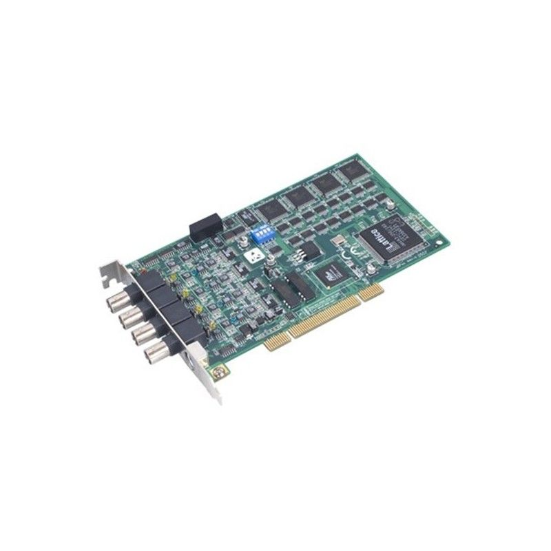 Carte bus PCI Universel. 4 entrees Analogiques 10MS/s. resolutio