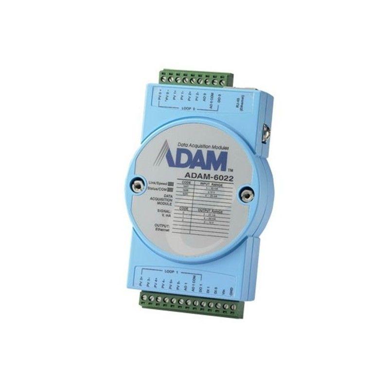 Module 2 boucles PID. compatible Modbus TCP