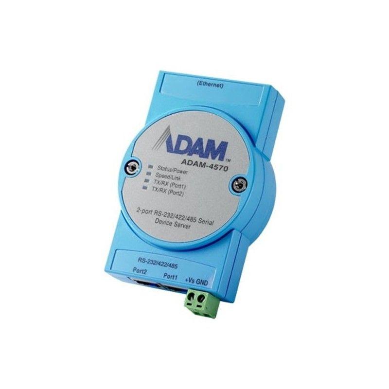Module Passerelle 2 Ports RS-232/422/485 via le reseau Ethernet
