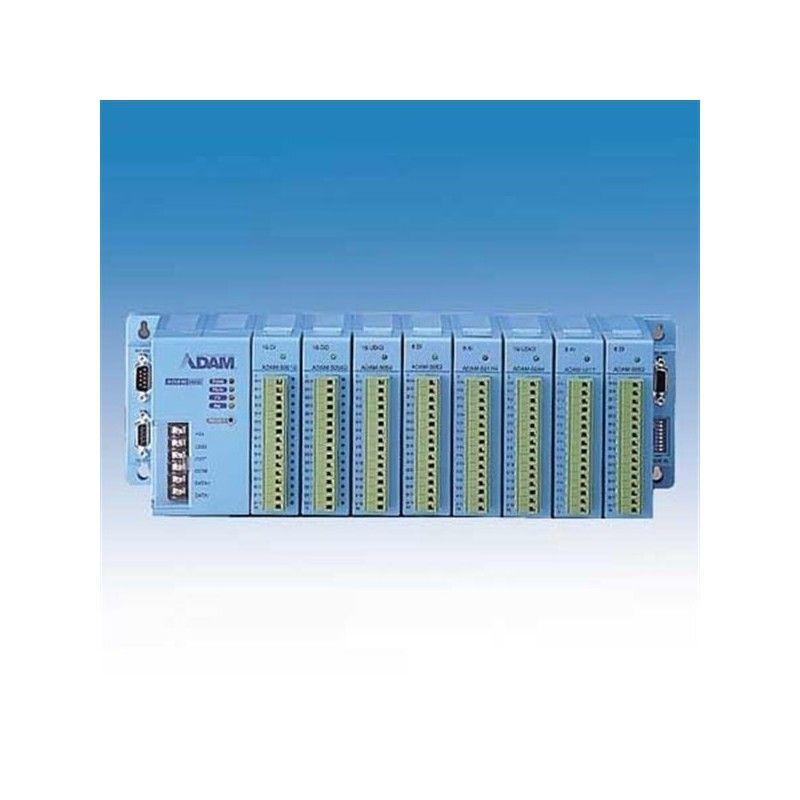 Boetier de base pour 8 modules ADAM-5000. communication RS-485 (Co