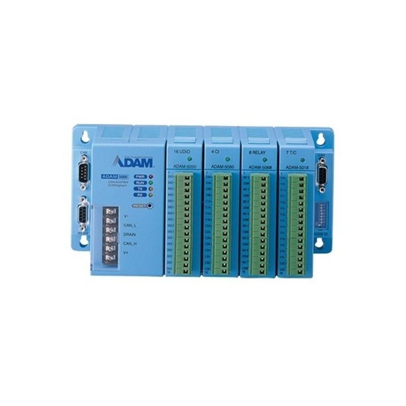 Boetier de base pour 4 modules ADAM-5000. communication RS-485 (Co
