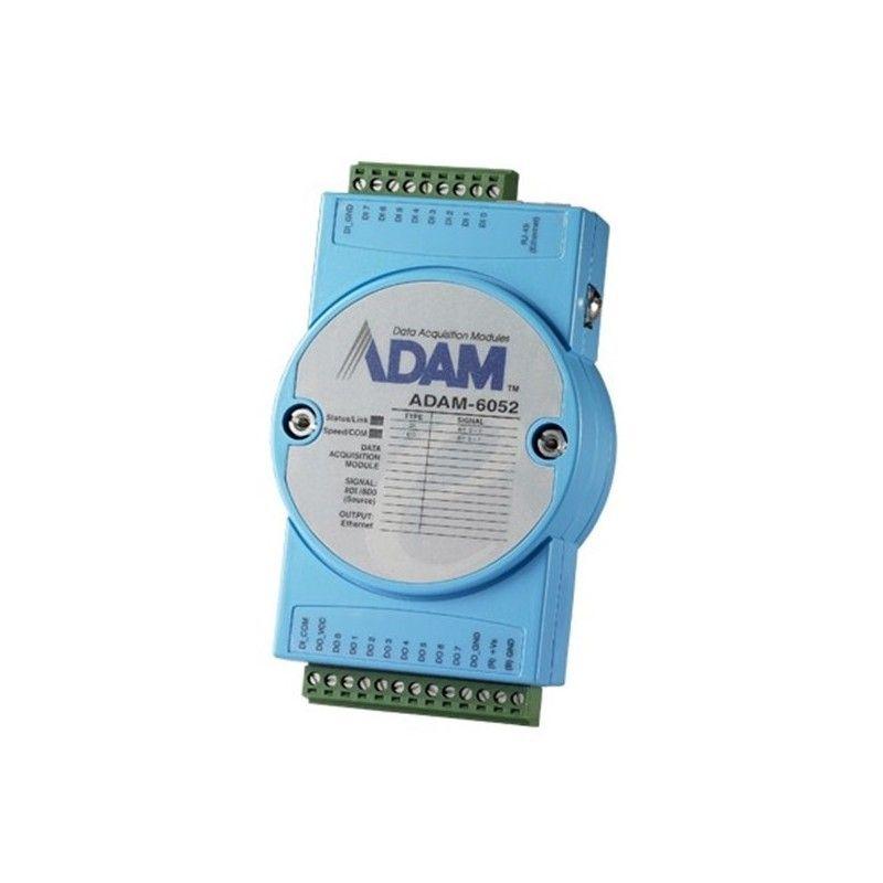 Module 8 entrees et 8 sorties Digitales. compatible Modbus TCP