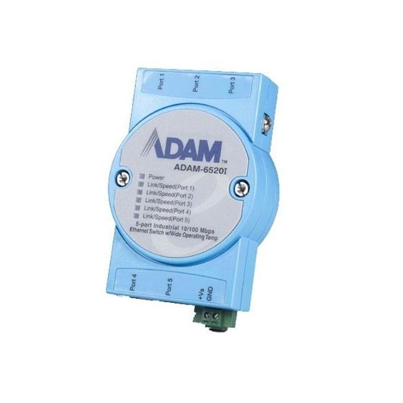 5-port Wide Operating Temp. Industrial Switch