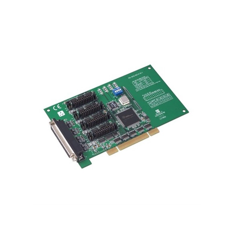 Carte 4 ports RS-232/422/485 DB9 (protection surtensions). bus PCI U