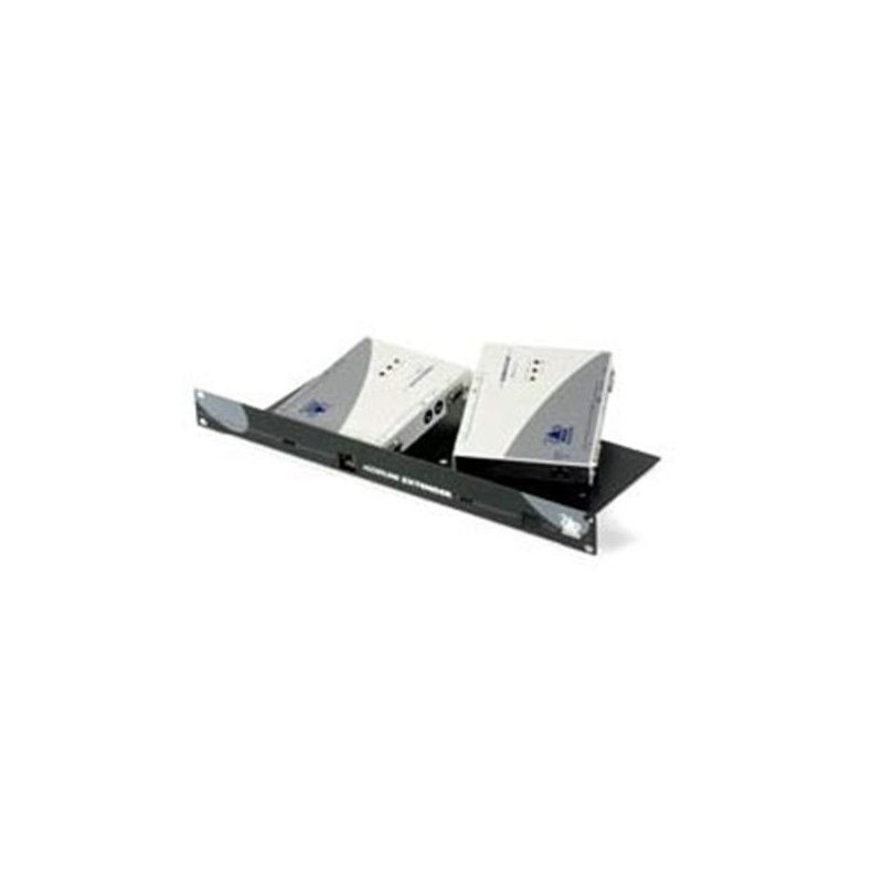 X2 SILVER Dual Access KVM rack mount panel kit For both Local and Re