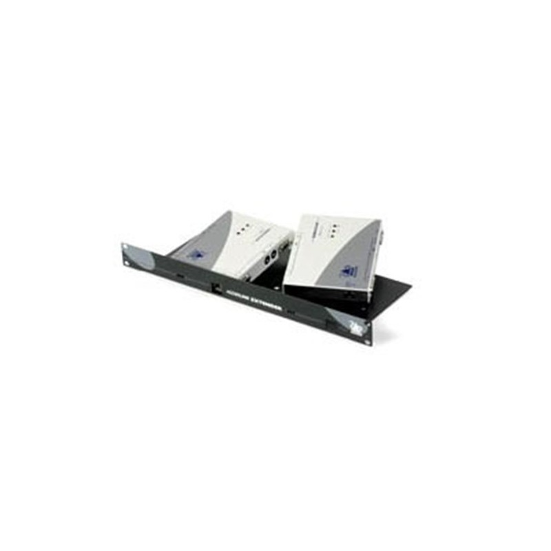X2 SILVER KVM rack mount panel kit For both Local and Remote Modules