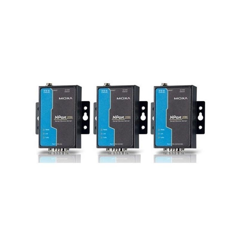 Serveurs peripherique serie RS-232/422/485 1 port  10/100M Eth