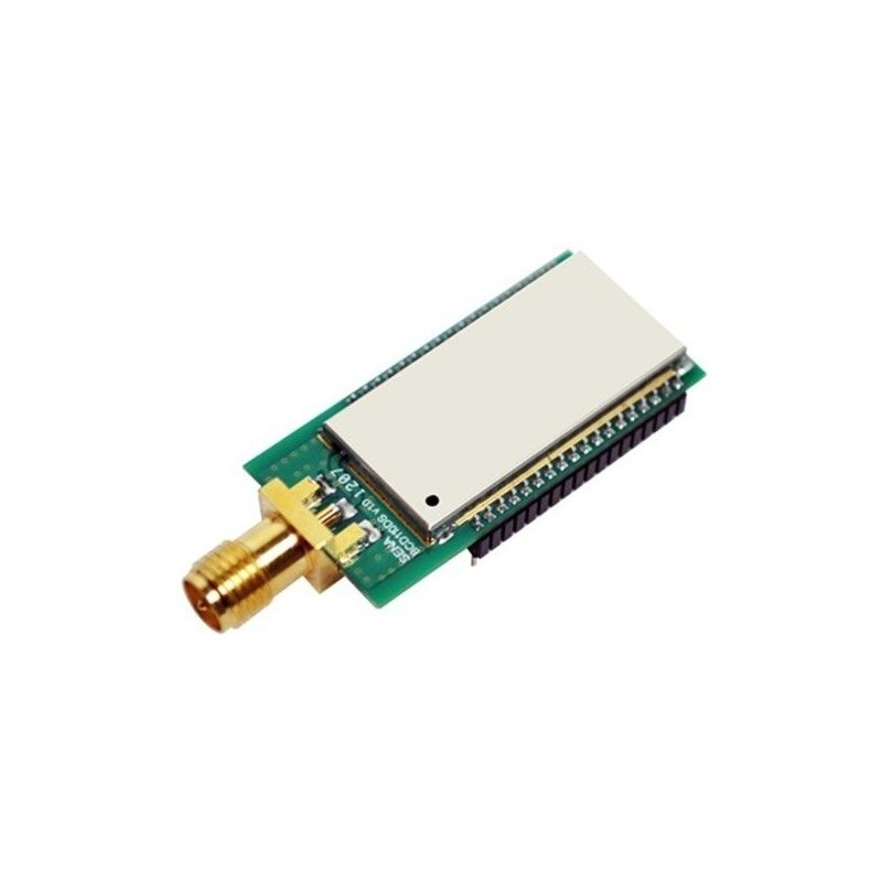 BCD110 Bluetotooth Class 1 module. DIP type with RPSMA antenna conne