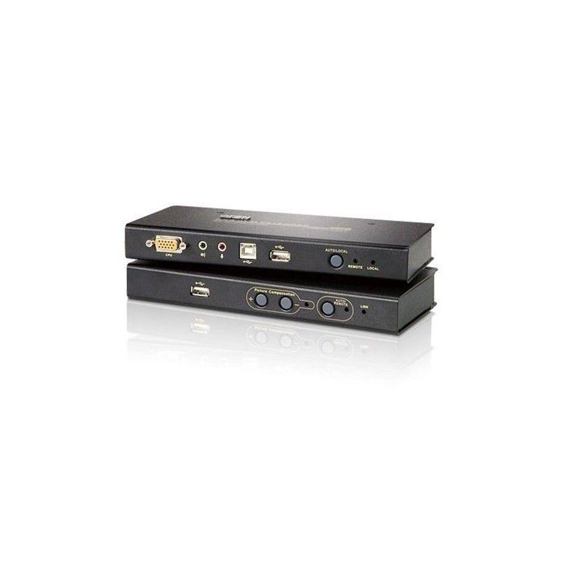 console extender rj45 - vga/usb/audio - 250m - 1600 x 1200