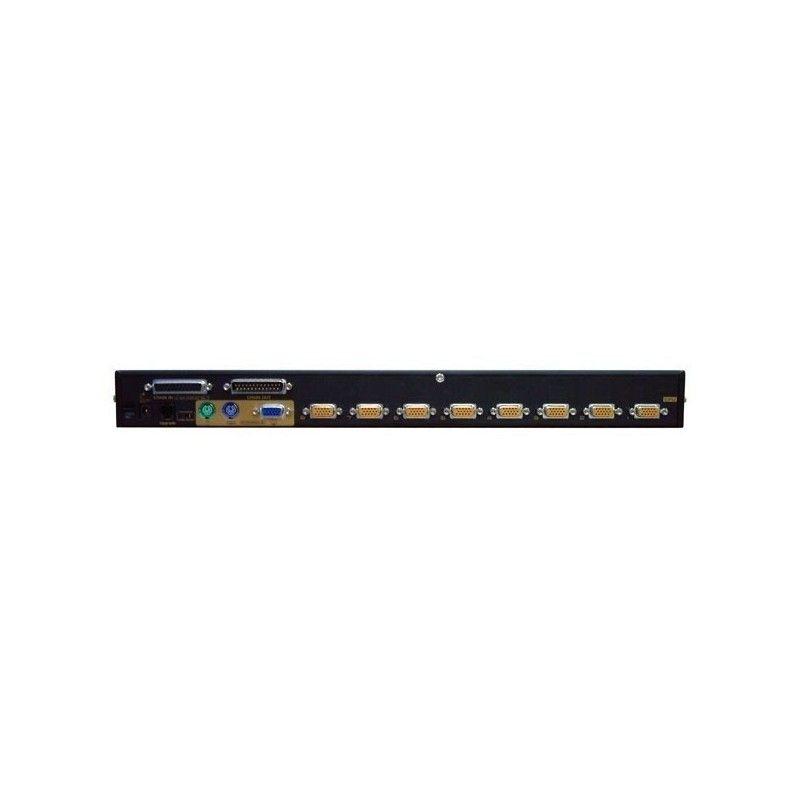 switch kvm ps2 - 8 uc / 1 console - rackable