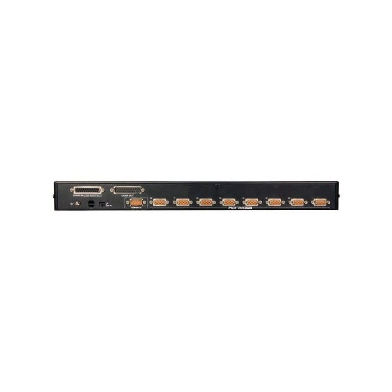 switch kvm ps/2-usb - 8 uc / 1 console - rackable