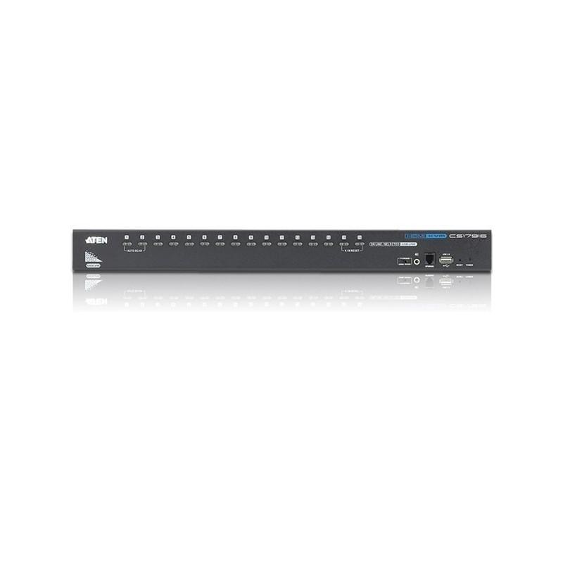 Switch KVM 16 ports USB HDMI