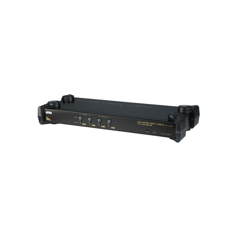 switch kvm 4uc / 1 console automatique - ps/2 + osd