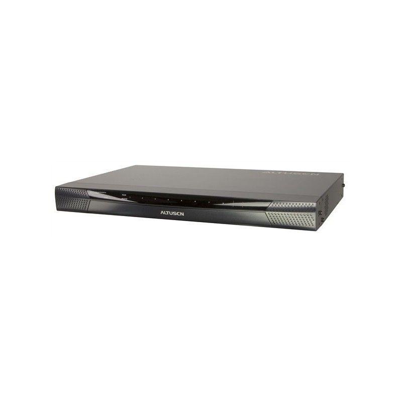 Switch KVM 8 ports RJ45 2 Consoles (USB et PS2) CAT5 au dessus de 50