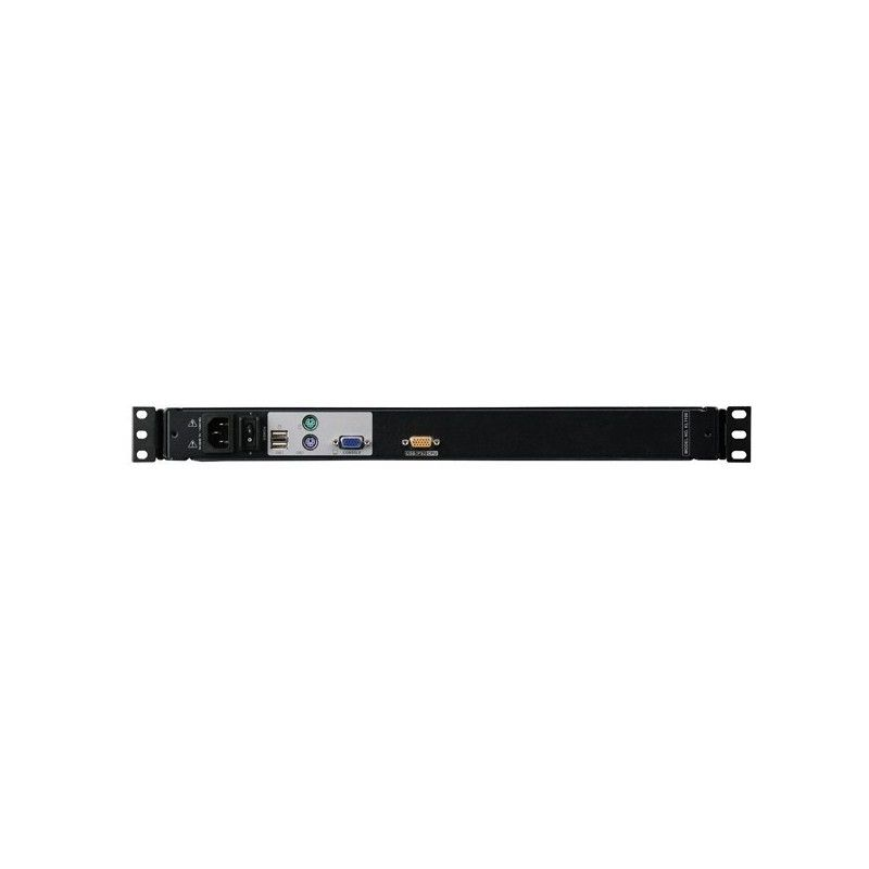 Dual rail 17 LCD PS/2-USB Console