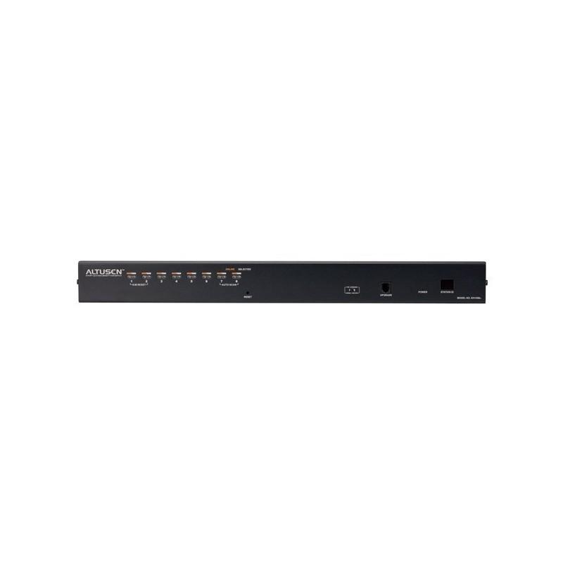 Switch KVM 8 ports RJ45 supportant PS/2 USB SUN USB Server Console U