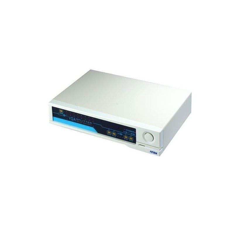 Splitter VGA - 8 ports. Bandwidth: 450MHZ - 2048x1536
