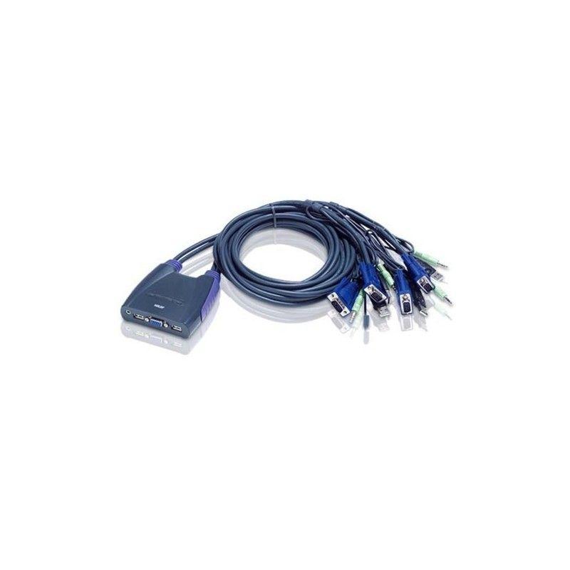 mini switch KVM USB et audio
