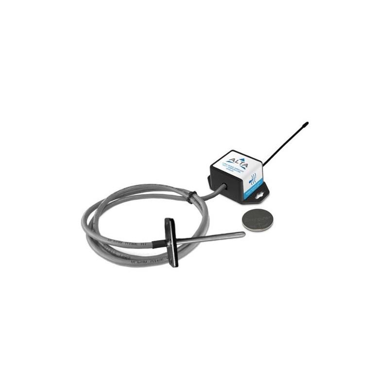 ALTA Capteur de température sans fil pour gaine - Alimenté par pile à pièces (868MHz)