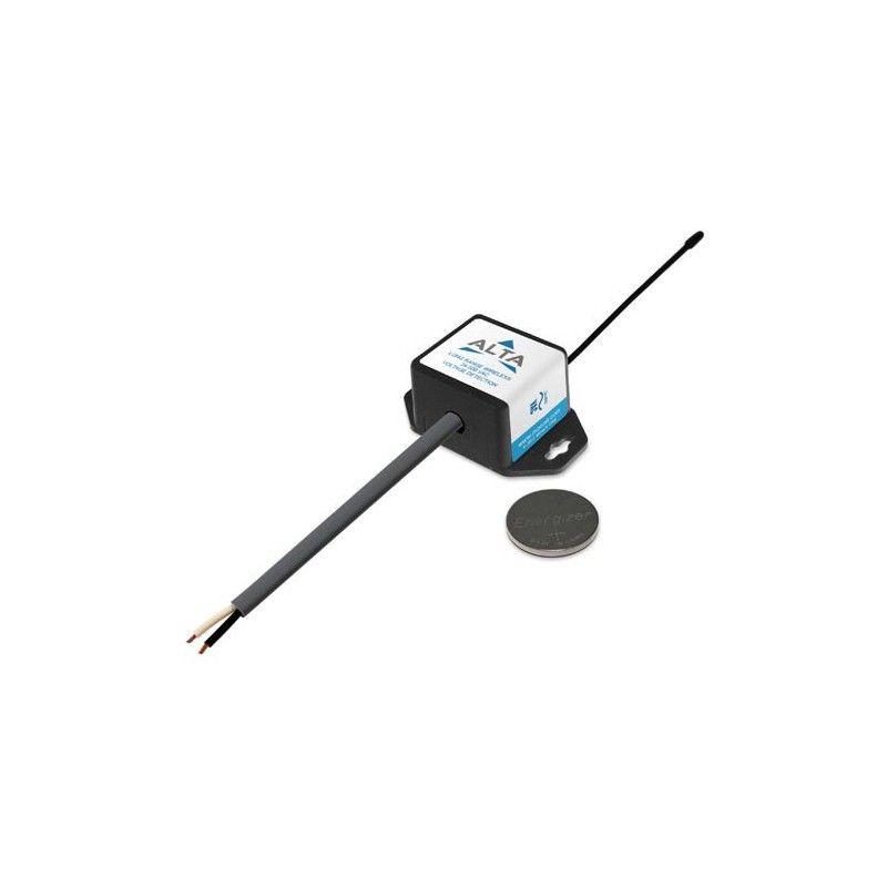 ALTA Détection de tension sans fil - 500 VAC - Alimenté par pile à monnaie (868MHz)