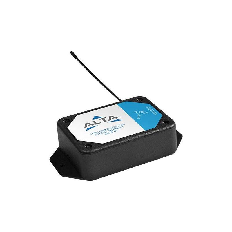 Accéléromètre sans fil ALTA - Capteur d'instantané G-Force - Alimentation par pile AA (868MHz)