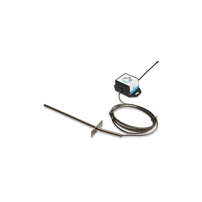 ALTA Capteur thermocouple sans fil (sonde fixe de type K) - Alimenté par pile à monnaie (868MHz)