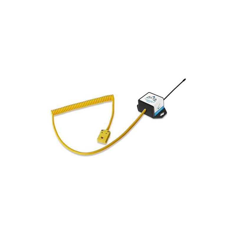 ALTA Capteur thermocouple sans fil ALTA (type K à connexion rapide) - Alimenté par pile à monnaie (868MHz)