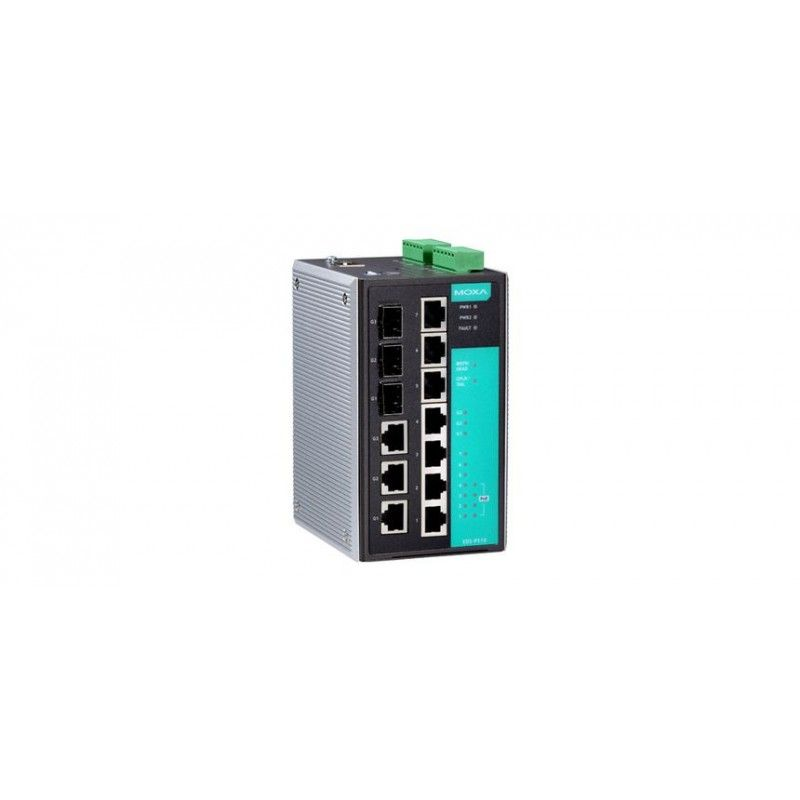 Commutateurs Ethernet Gigabit PoE administrables de 3 10/100BaseT(X)