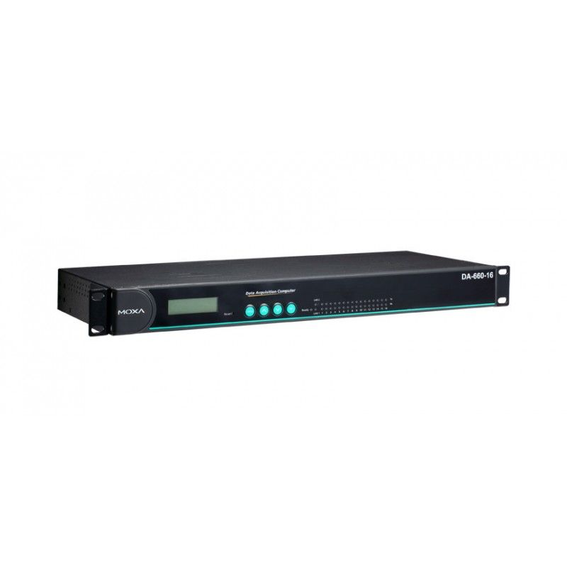 Ordinateur d'acquisition de données RISC en rack Moxa - DA-662-16-LX Moxa - 1