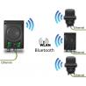point d'accès pour maximum 7 clients Wifi/Bluetooth.