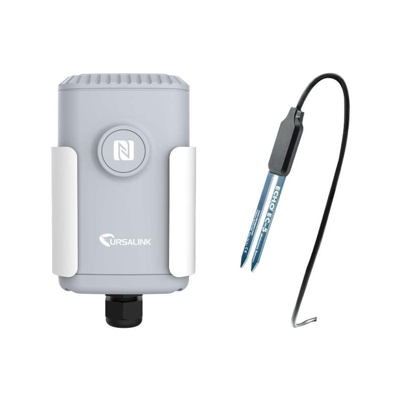 Capteur humidité, température, conductivité du sol EM500-SMTC,  LoRaWAN,  Milesight IoT