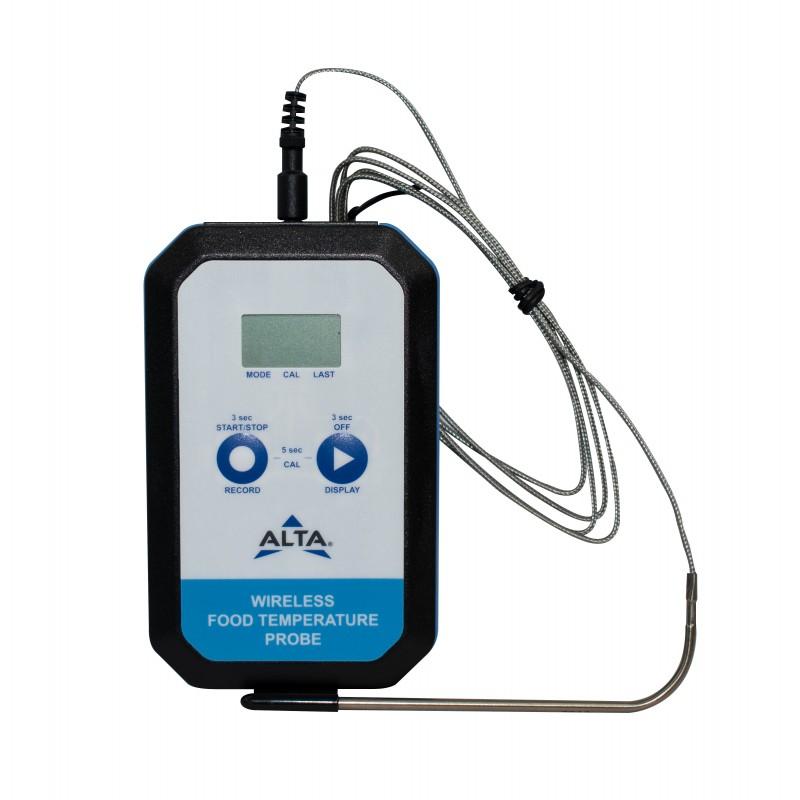 Sonde température alimentaire Alta Monnit avec courbe et alertes