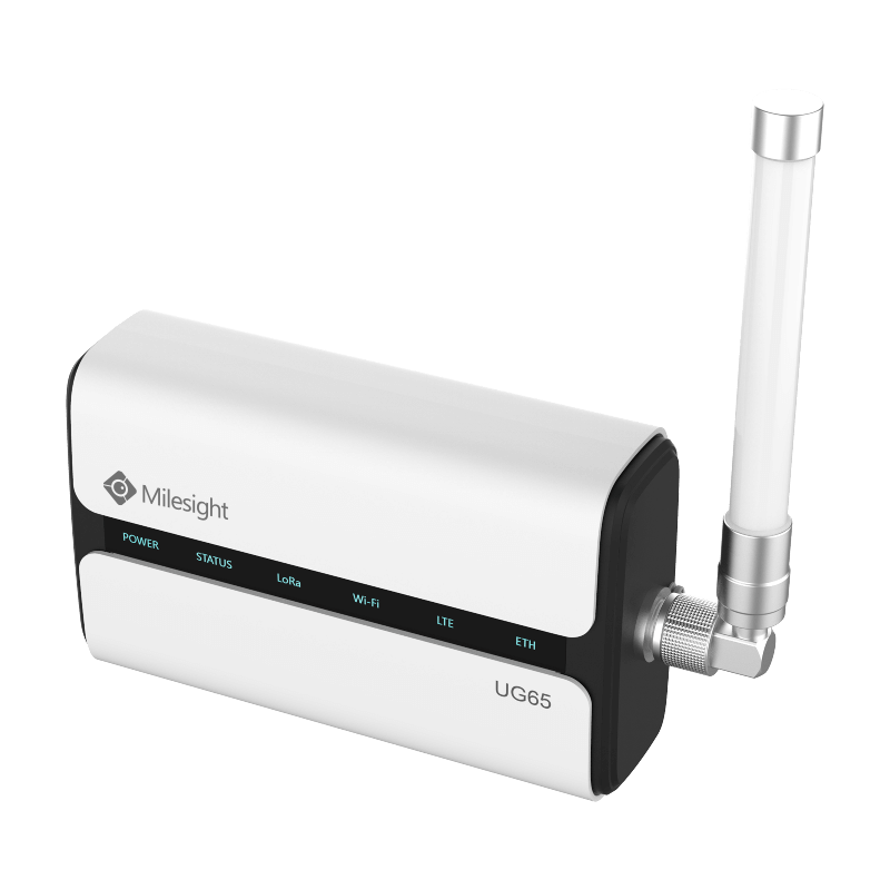 Passerelle LoraWAN UG65 4G Ethernet Wifi IP65 de Milesight IoT