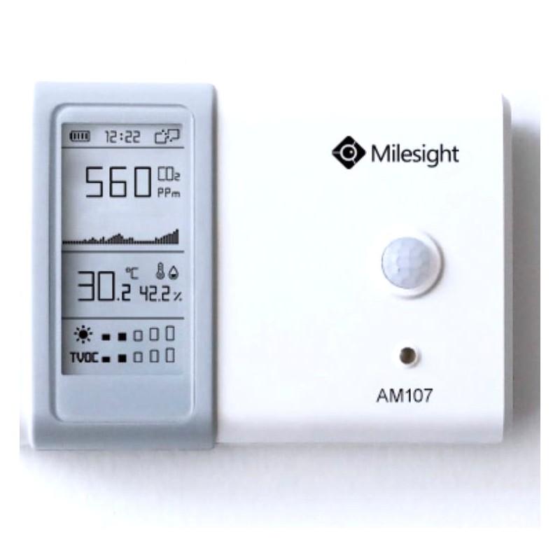 Capteurs qualité de l'air intérieur AM104 et AM107 de Milesight IoT