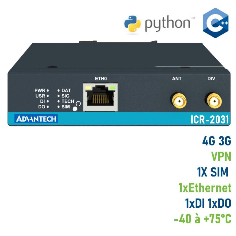 Routeur industriel 4G LTE Advantech ICR-2031